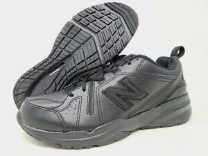 New Balance Men's 608 V5 Cross Trainer, Black/Black, 9.5 D(M) US