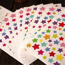 Funny Heart Dot Stars Stickers DIY Photo Album Reward Stickers 1 Set 6sheet TK