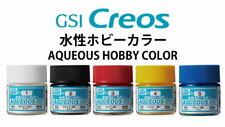 Gunze GSI Mr.Hobby Aqueous Color Acrylic Paint H1~H515 (10ml) multiple choice