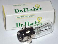 ★LAMPADA 6 V 15 W P15d25-4a DR.FISCHER (Hosobuchi, Opti-Quip, Zeiss Ikon)★
