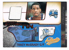 2001-02 Fleer Authentix Tracy McGrady 1/50 Game Used Jersey Relic (unripped #3)