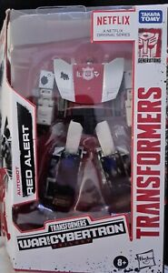 Takara Hasbro Transformers Netflix War for Cybertron Trilogy Deluxe RED ALERT