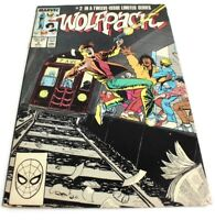 Marvel WOOLFPACK Comic Book Sept 1988 #2 in 12 Limited Series FREE FAST SHIPPING