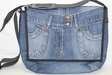 SWISS MOUNTAIN UMHÄNGETASCHE Shopper Jeans + LKW-PLANE Händ Bägs 37/9/25cm