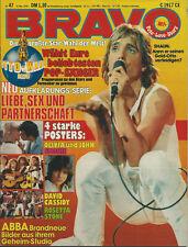 Bravo Heft 47/1978 (16. November) Komplett mit dem Superposter von Smokie