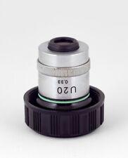 Nikon U20/0.33 - ELWD Microscope Objective - Microphoto Lens - Rare