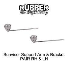 1949 1950 1951 Mercury Sunvisor Arm & Bracket PAIR