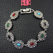 Betsey Johnson Fashion Jewelry Unique Cool Gemstone Bangle Bracelet