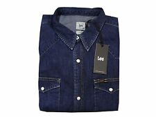 Collared Long Sleeve Lee No Casual Shirts & Tops for Men