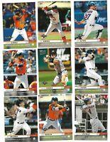 2019 Topps Now Houston Astros Postseason 15-Card Team Set Altuve/Correa/Yordan