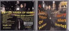 Harry Allen - A Little Touch of Harry Jazz CD 1997 jz5.75