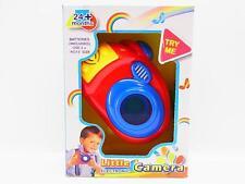 LOT 32210 Baby Fotokamera rot Sound + Licht, Kamera-Blitz ab 24 Monaten NEU OVP