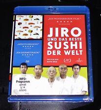 JIRO Y DAS BESTE SUSHI DER WELT BLU-RAY ENVÍO RÁPIDO NUEVO Y EMB. ORIG.