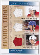 14-15 Artifacts Desharnais Briere Gionta Jersey Tundra Trios Canadiens 2014