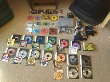 Pre Owned Lot of PlayStation Consol, Games, Controllers, Manual.  See Photos.