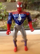 "Spiderman Toy Figure - 11"" Poseable Spiderman Figure - 2000 - Marvel"