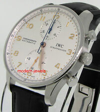 IWC Portuguese Chrono Automatic Watch IW371445 - Deployment Buckle IW3714-45 !