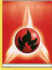 POKEMON - FIRE ENERGY CARD FROM THE PLASMA BLAST ELITE TRAINER BOX