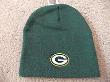 Green Bay Packers Green Officially Licensed NFL Beanie Hat-BNWT's
