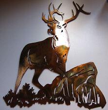 Elk Metal Wall Art small version by HGMW