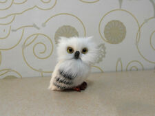 Bid1PC Harry Potter Realistic Hedwig Owl Toy Desk Decoration Kid Christmas Gift