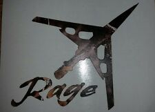 RAGE BROADHEADS, VINYL, LOST CAMO,TRUCK DECALS, MORE, 3.25 INCH