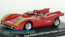 1:43 FIAT ABARTH 2000 SPORT SPIDER SE019 -1970_ Abarth Collection Hachette (41)