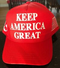 Official Campaign Authentic Keep America Great 45 Trump Cali-Fame Hat Cap MAGA
