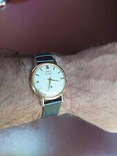 Vintage 1950's Oris 15 Jewel Swiss Movement Gentlemans Dress Watch