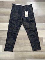 Levi's Premium Hi-Ball Men's Cargos|Cargo Pants 727970014 Camo NWT Size 32