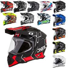 O'Neal Sierra II Helm Slingshot Motorrad Motocross MX Enduro Quad Offroad Cross