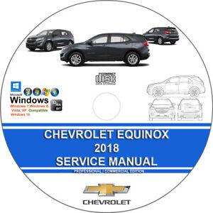 Chevrolet Equinox 2018 Service Repair Manual on CD - 3 Days Shipping