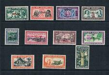 New Zealand - 1940 Scenes Ovrptd official - SC O76-O86 [SG O141-O151] Mint 20-E