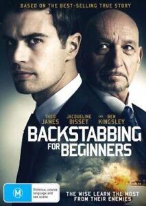 Backstabbing For Beginners : Ben Kingsley : NEW DVD