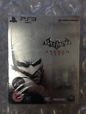 Nuevo Sellado De Fábrica Batman Arkham City Steelbook PS3 Sony Playstation 3