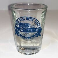 Sturgis 51st Annual Motorcycle Rally 1991 Shot Glass South Dakota Eagle Buffalo