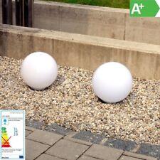 LED Solar Bola de Jardín/Iluminación Camino - Ø30cm - Color de Luz Blanco