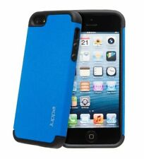 iPhone 5 / 5s / SE Apple Hard Case Cover BLUE + LIGHTNING CABLE