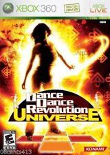 Dance Dance Revolution: Universe (Microsoft Xbox 360, 2007) COMPLETE
