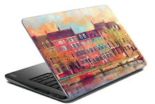 meSleep Multi Color Home Laptop Decal - Laptop Skin- Size-14.1 to 15.6 inches