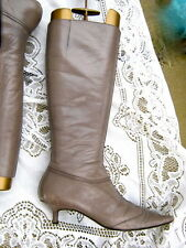 ANYA HINDMARCH Womens LEATHER BOOTS / LEATHER LINED size U.K 6.5 / 39.5