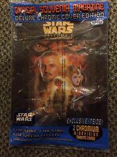 Topps Star Wars Souvenir Magazine Episode 1 The Phantom Menace w/ Cards
