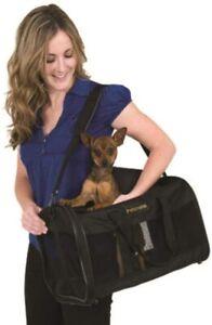 LM Petmate Soft Sided Kennel Cab Pet Carrier - Black Large -