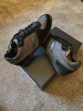 Hugo Boss Mens Glaze Trainers Uk Size 8 Rrp £139 Brand New In Box