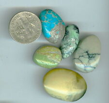 Mixed bag  Emerald Mountain Fox Pixie New Lander Turquoise Gaspite 6 cabs