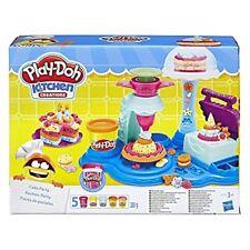 Play Doh Cake Play Set Baking Kitchen Kids Toddler Boy Girl Gift Activity New
