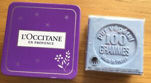 L'Occitane Lavender 100gm Soap with Tin New
