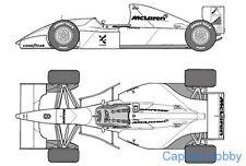 Tamiya 25172 1/20 McLaren Ford MP4/8  – Senna F1 Racer  Model Kit