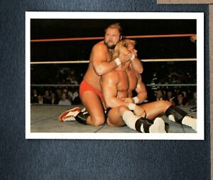 1988 Wonderama NWA #53 Arn Anderson vs. Lex Luger Rookie ZWb 3002