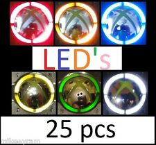 Xbox 360 controller LED Ring Of Light Mod Kit 25pc - Pick color(s) you want